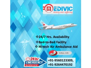 Avail Complete Air Ambulance Services in Allahabad by Medivic