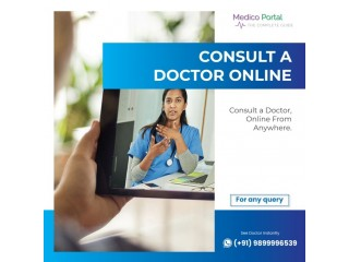 Consult a doctor online